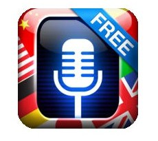 Translate Voice Free iOS logo