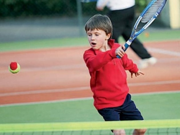 Young Tennis Player