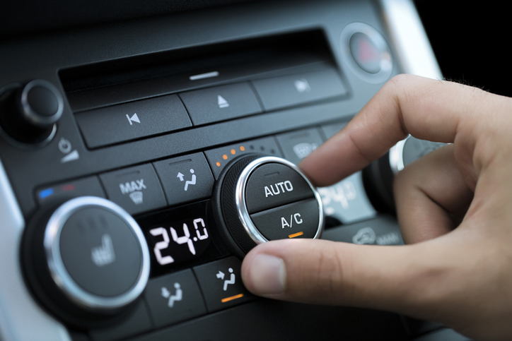 heat in car