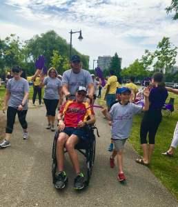 Brampton ALS walk supporting Don Doan