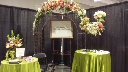 Branching Out Floral booth August Pink Bride Show