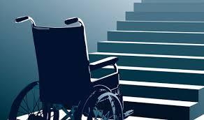Wheelchair stuck