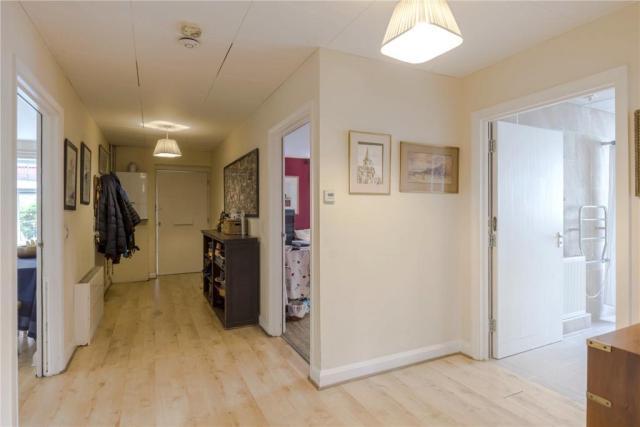 Corridor and wet room