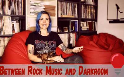 Between rock music and darkroom: Lina Bessonova