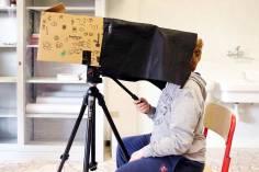 il laboratorio della scatola fotografica