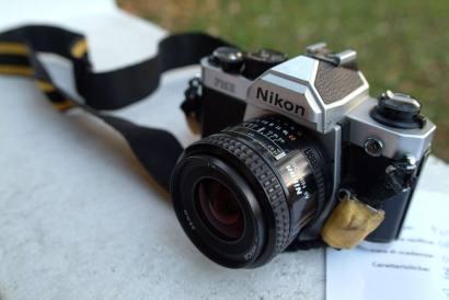 la fotocamera per il test