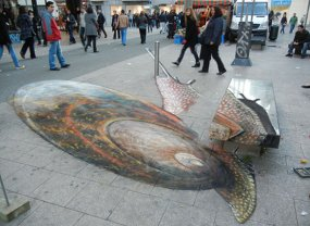 JulianBeever2 - arte strada 3D