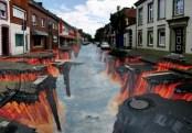 JulianBeever7 - arte strada 3D