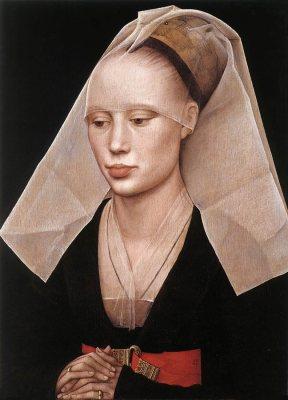 Il Ritratto di giovane donna è un dipinto olio su tavola di Rogier Van Der Weyden, databile al 1460 circa e conservato nella National Gallery of Art di Washington