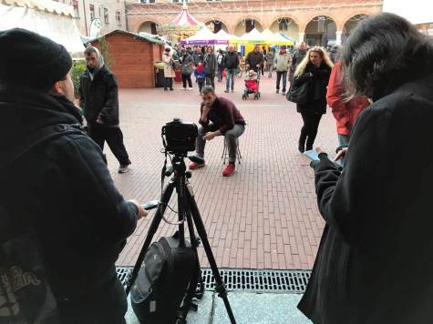fotografare in esterni
