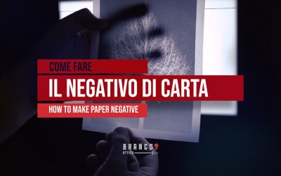How to make paper negative