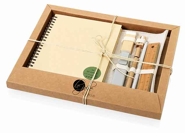 Promotional Eco Stationery Gift Set │ Desk items Importer ...