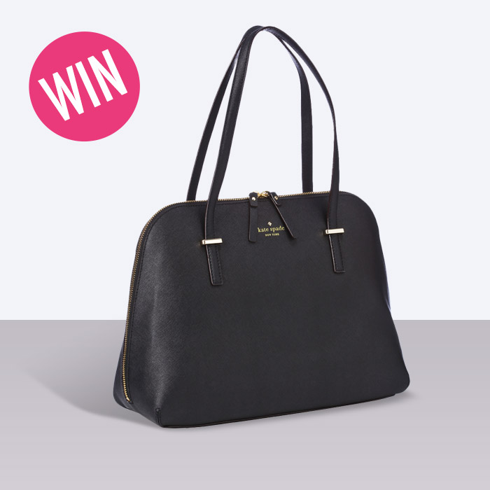 611808837a What s in your handbag  Tell us to win one from Kate Spade ...