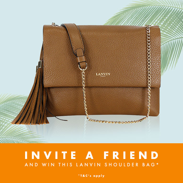 Invite your Friends to BrandAlley to WIN some Arm Candy - Lanvin Bag social