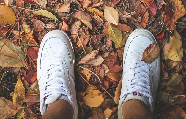 investment pieces white trainers