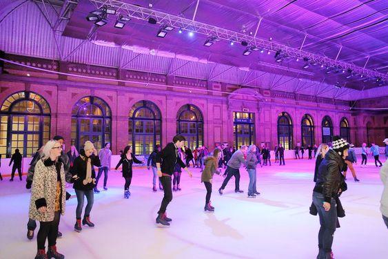Alexandra Palace ice skating London skating rink