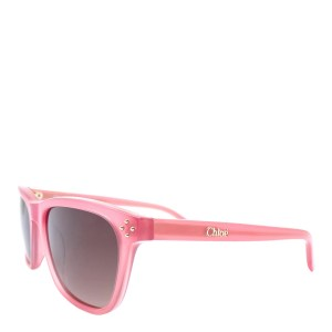 Chloe Women's Rose Crystal Chloe Sunglasses 49mm