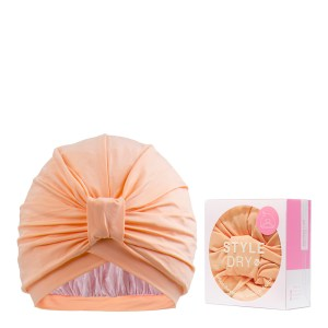 Styledry Turban Shower Cap, That's Peach