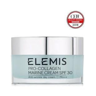 Elemis pro collagen marine day cream spf 30, makeup last all day