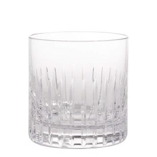 Soho Home Roebling Cut Crystal Rocks Glass