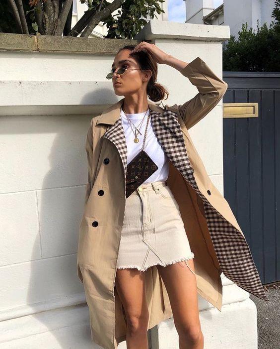 trench coat trend
