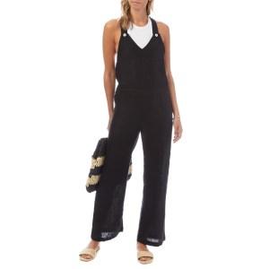 N°· ELEVEN Black Linen Jumpsuit