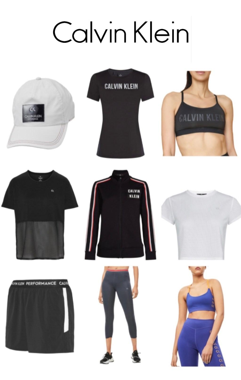 Calvin Klein activewear