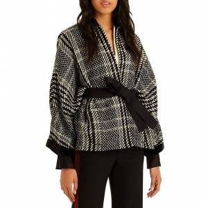 autumn fashion trends checked amanda wakeley jacket