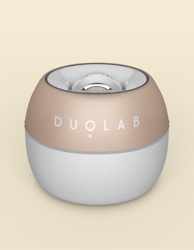 DUOLAB skincare device and applicator