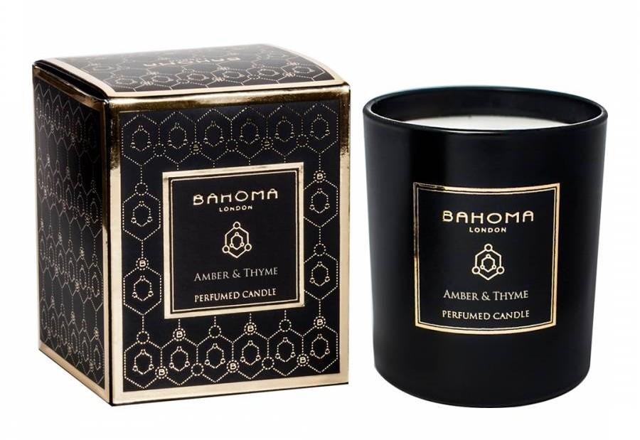 bahoma candle christmas gift