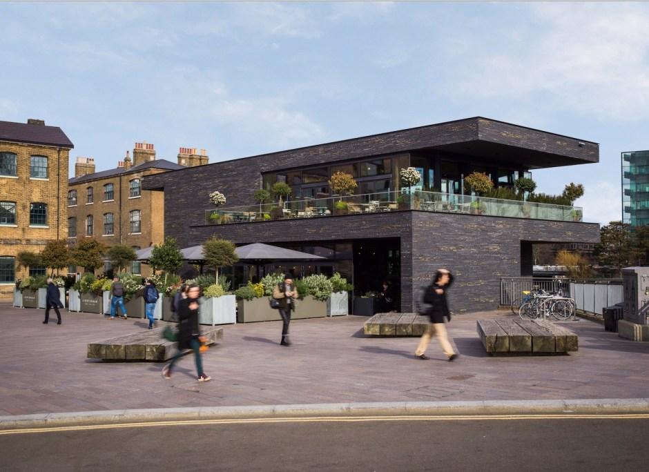 The Lighterman Restaurant, Kings Cross Restaurants