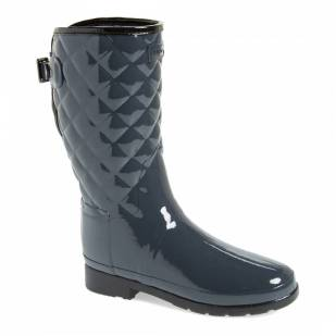 hunter quilted wellies
