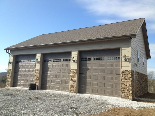 Custom Garage built in Knoxville Tn
