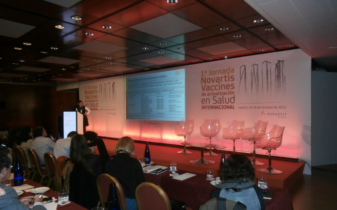 Novartis graphic production event
