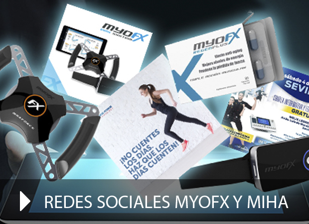 Redes sociales Myofx y Miha Bodytec