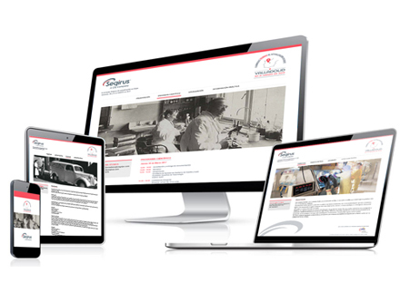 Seqirus web design for congresses