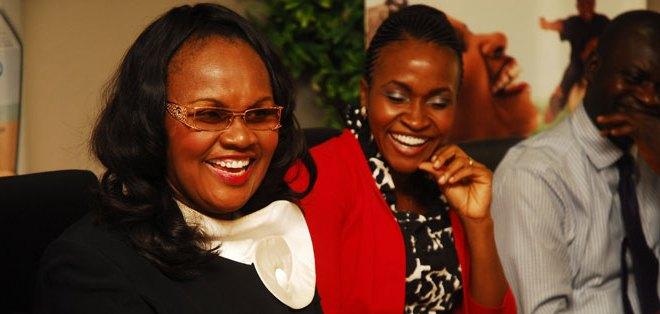 MD Emzor Pharmaceuticals – Mrs Stella Okoli, Mrs Uzoma Ezeoke – Executive Director of Finance and duties Emzor Pharm