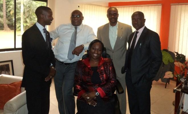 L-R: Olakanmi Amoo-Onidundu of Insight (Asst. Publicity Secretary) Jimi Awosika (MD/CEO Insight), Bunmi Oke (AAAN President), Kelechi Nwosu of TBWA/Concept (AAAN Vice President) and Sam Osunsoko of Insight (Ex-Officio).