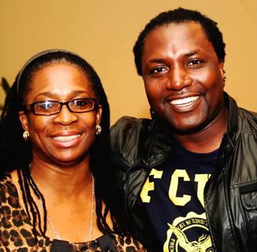 Funke Babatola, CEO, FB Initiative/ Convener, YMC2.1 and Steve Babaeko, CEO, X3M Music & X3M Ideas