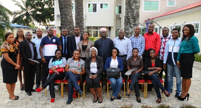 Participants and facilitators shortly after the PRCAN Masterclass series on Crisis Communications and Management held in Ikeja, Lagos