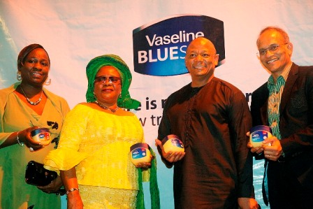 President of AAAN, Mrs. Bunmi Oke; MD, Unilever Nigeria Plc., Mabe Thabo; Representative of wife of Lagos State Governor, Mrs. Mosunmola Junaid; and Brand Building Director, Unilever Nig. Plc, Mr. David