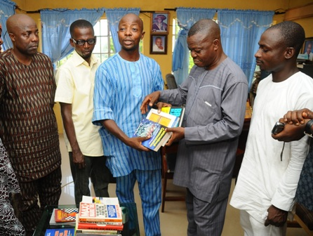 MD/CEO Commstrat Associates, Mr. Hakeem Adenekan; Lecturer, department of Mass Communication, Moshood Abiola Polytechnic, Abeokuta, Mr. Wasiu Tejuoso; Donor and Public Relations Consultant, Mr. Ganiyu Olowu; Head of Department of Mass Communication, Alhaji Rauf Adegoke; and CEO Multi-M Limited, Mr. Tunde Dawood-Akerele