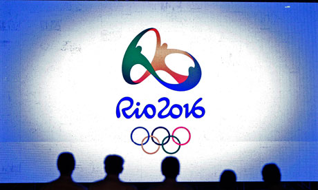 the Rio 2016 Olympic logo tries to say too much and ends up looking confused. Photograph: Felipe Dana/AP
