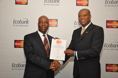 Patrick Akinwuntan, Ecobank and Daniel Monehin, MasterCard
