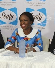 Mrs Peju Adebajo, Managing Director, Mouka Foam