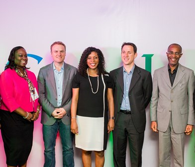 L-R: Bunmi Oke, Chief Operating Officer, 141 Worldwide; Luke Mckend, Country Director, Google South Africa; Juliet Ehimuan Chiazor, Country Manager, Google Nigeria; Gur Biron, Head of Sub Saharan Africa, Google; Ediri Ose- Ediale, Executive Secretary, Advertisers Association of Nigeria (ADVAN) at the Google C- Level Breakfast Forum, targeted at making businesses grow online through digital marketing in Nigeria held in Lagos