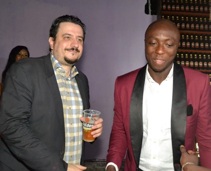 timeless design c5faf eeb23 L-R  Marketing Manager, Nigerian Breweries Plc, Mr. Franco Maria Maggi  and  the winner of the Ultimate Party contest, Mr. Adedamola Awoniyi, at the  Ultimate ...