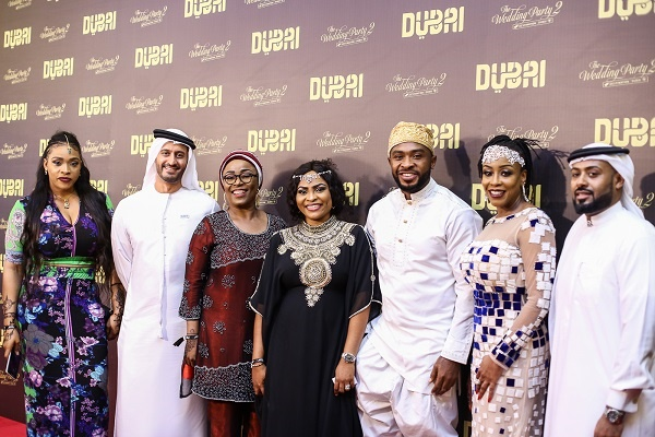 The Wedding Party 2.Grand World Premiere Of Wedding Party 2 Shines With Stunning