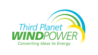 Third Planet Wind Power logo design