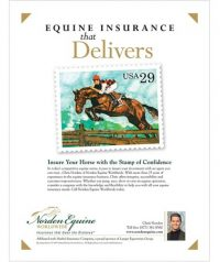 Ad for Norden Equine Worldwide in Warrenton VA